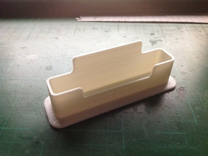 Business Card Holder Reconstructed 3D Print 64953