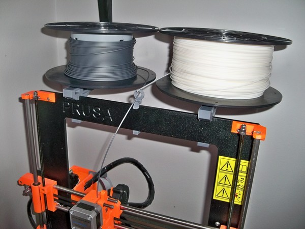 Medium Horizontal filament holder 3D Printing 64964