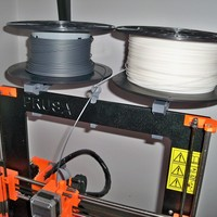Small Horizontal filament holder 3D Printing 64964