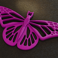 Small Butterfly 3D Printing 65052