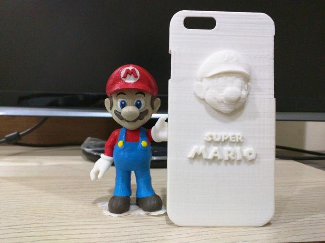 3D Printed IPHONE6 Case Super Mario by no okok no Pinshape