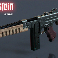 Small Wolfenstein: The New Order SMG 3D Printing 65161