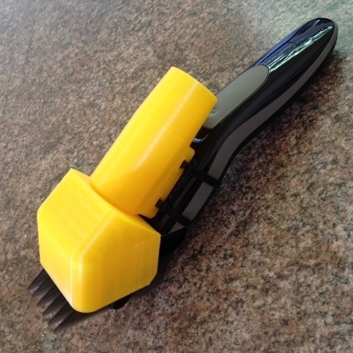 3D Printed Hair Clipper Vacuum Attachment by nucleous ...