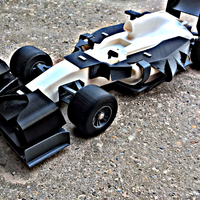 Small open R/C F1 body kit 2 3D Printing 65249