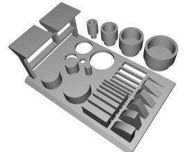 3D Brooklyn Printer Calibration Kit