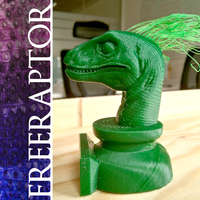 Small Hairy Freeraptor 3D Printing 65356