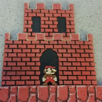 Small Super Mario Bros World 1-1 3D Printing 65543