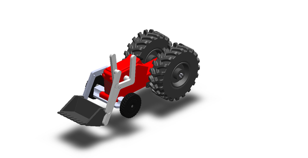 Medium Toys Tractor 3D Printing 65554