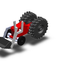 Small Toys Tractor 3D Printing 65554