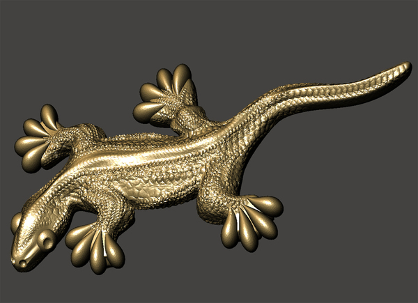 Medium Gecko 3D Printing 65631