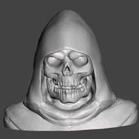 Small Skeletor-bust 3D Printing 65647