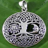 Small Pendant tree of Life 3D Printing 65679