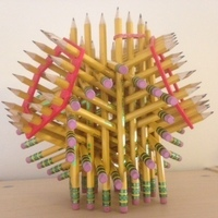 Small Helpers for 72-pencil sculpture 3D Printing 65857