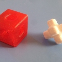 Small Impossible Menger Burr 3D Printing 65863