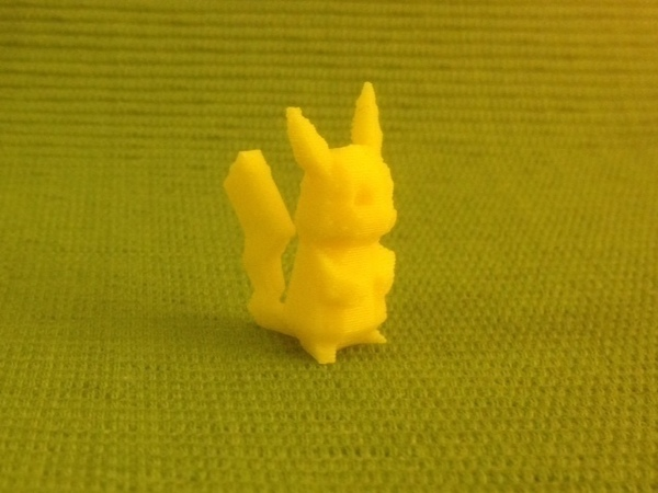 Medium Tail-strengthened Pikachu 3D Printing 65876