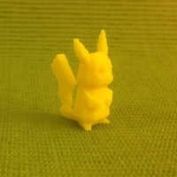 Small Tail-strengthened Pikachu 3D Printing 65876