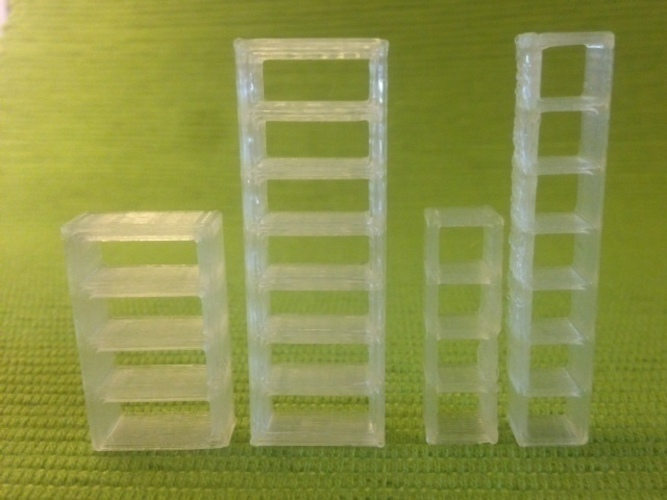 Billy bookcases 3D Print 65920