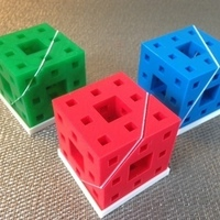 Small Menger slices 3D Printing 65967