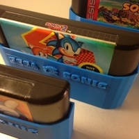 Small SEGA Sonic cartridge sleeves 3D Printing 66008