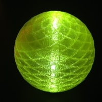 Small Glow sphere #1 3D Printing 66026