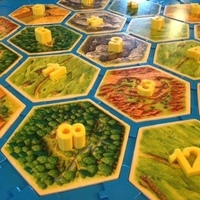 Small Catan numbers 3D Printing 66044