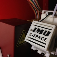 Small JMU 3-SPACE Afinia fan cover 3D Printing 66047