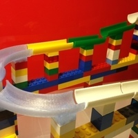 Small LEGO marble run 3D Printing 66065