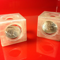 Small Coin trap 3D Printing 66077