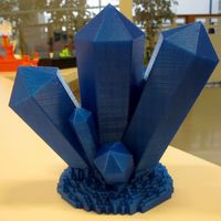 Small Crystal cluster 3D Printing 66195
