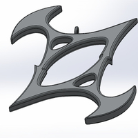 Small Symbol of Torment 3D Printing 66221