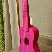 "Small ""Nukulele"" Playable soprano Ukulele, sounds great printable with 3D Printing 66253"