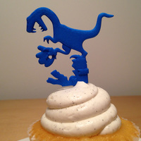 Small RAPTOR CAKE TOPPER 3D Printing 6627