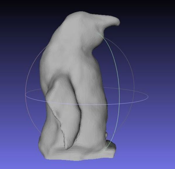 Medium Stuffed Penguin Scan 3D Printing 66360