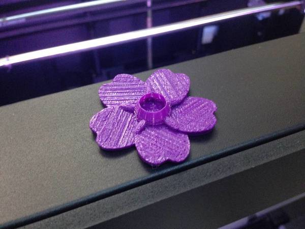 Medium Forget Me Not 3D Printing 66388
