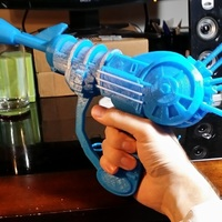 Small Ray Gun from Black Ops UNDER RECONSTRUCTION 3D Printing 66442