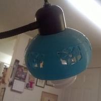 Small Autobot Lamp Shade 3D Printing 66684