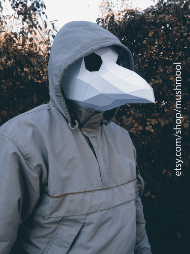 Plague Doctor Mask 3D Print 66721