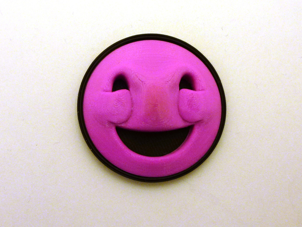 Medium Happy Face! 3D Printing 66726