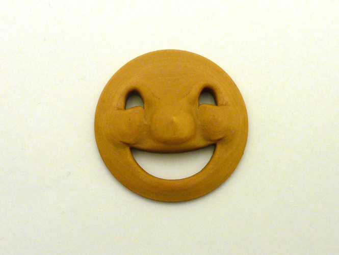 Happy Face (New Face!) 3D Print 66743
