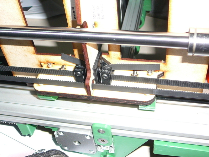 3D Printed Geoffs Ormerod Y Axis Belt Clamps by ftlpilot | Pinshape