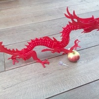 Small 3dPuzzle Dragon 3D Printing 66924
