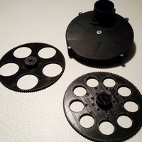 "Small Filter wheel (9x1.25"" or 5x2"") 3D Printing 67208"