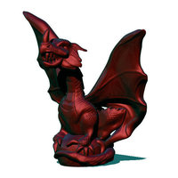Small Chibi Dragon 3D Printing 67286