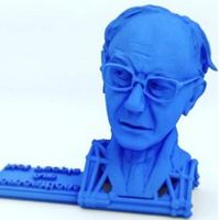 Small Bernie Sanders: The Stamp! 3D Printing 67293