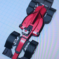 Small open rc f1  Air-ram fenders 3D Printing 67359