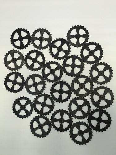 3D Printed Functional Wall Gear Art by James_Sabatino | Pinshape