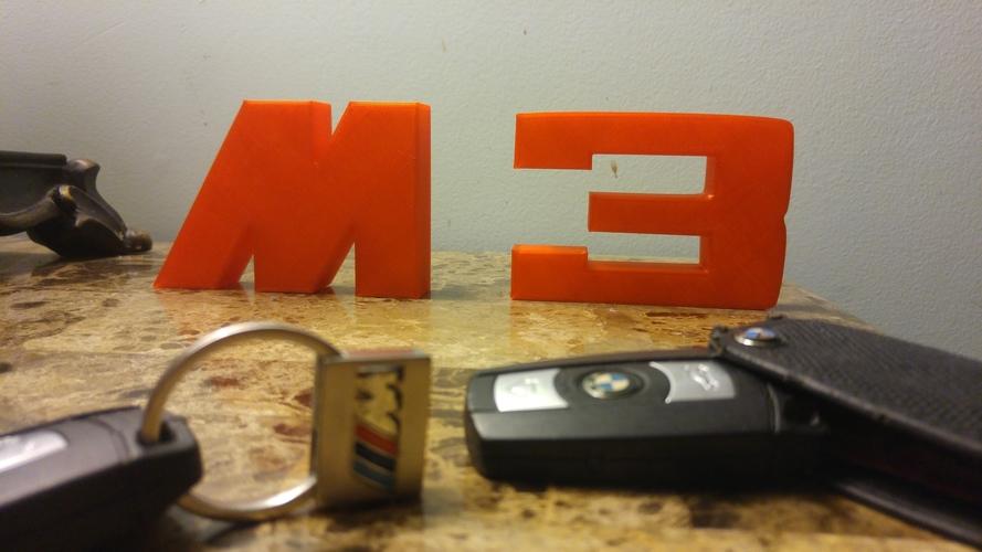3d Printed Bmw M3 Logo By R Starr Pinshape