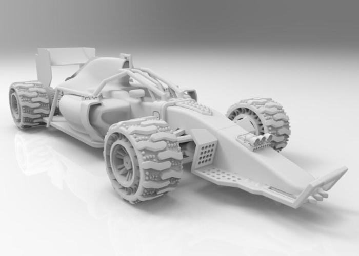 F1 MadMax  V2 (For use with the original nose) 3D Print 68189