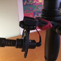 Small DJI OSMO Extension mount 3D Printing 68257