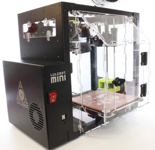 3D Printed New Stronger Hinge For Acrylic Door (Lulzbot